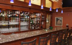 the pub bar at inn at onu